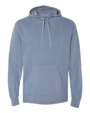 Comfort Colors Garment-Dyed French Terry Scuba Neck Hooded Pullover