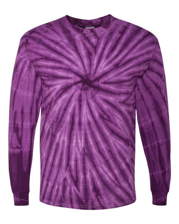 Dyenomite Cyclone Pinwheel Long Sleeve T-Shirt