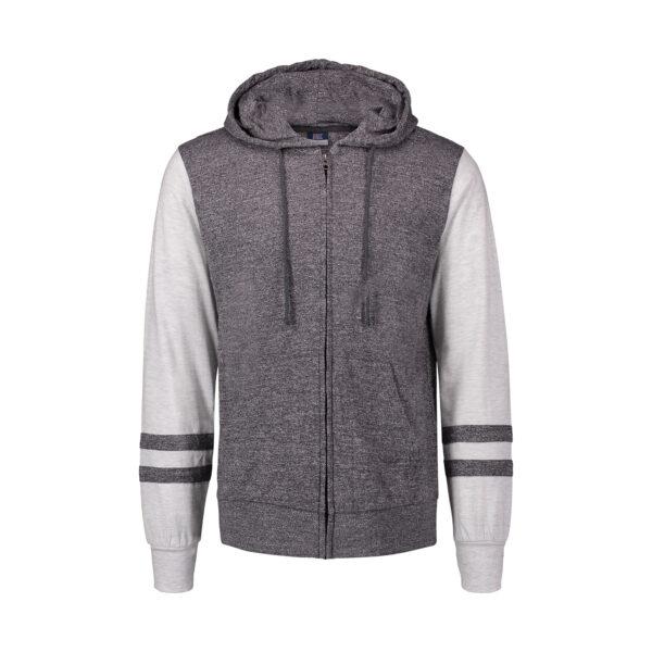 MV Sports Leo Slub Full Zip Sweatshirt