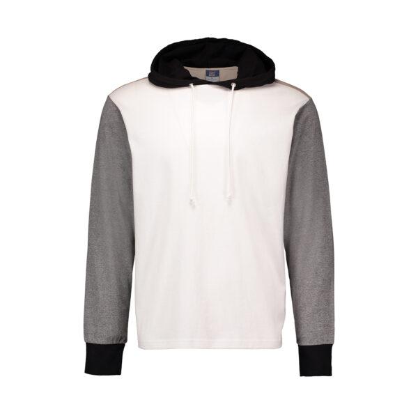 MV Sports Dean Peached Jersey Hooded Long Sleeve T