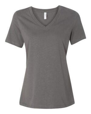 BELLA + CANVAS Women's Relaxed Jersey V-Neck T-Shirt