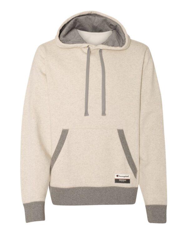 Champion Originals Sueded Fleece Pullover Hooded Sweatshirt