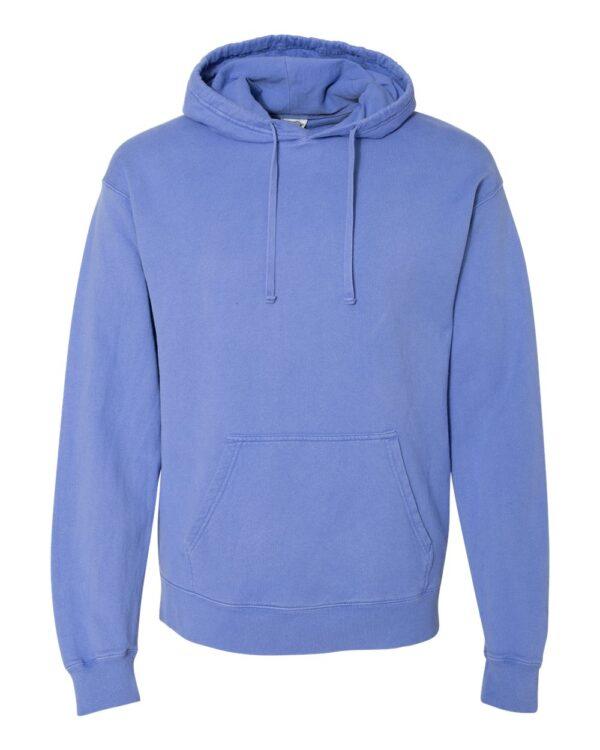 ComfortWash by Hanes Garment Dyed Unisex Hooded Pullover Sweatshirt