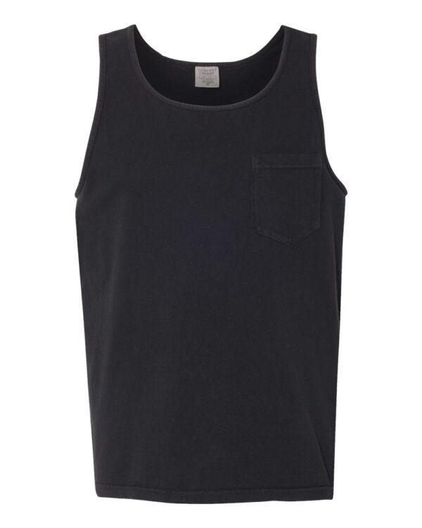 Comfort Colors Garment-Dyed Heavyweight Pocket Tank Top