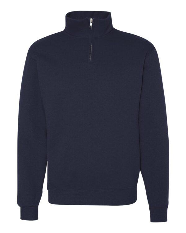 JERZEES Cadet Collar Quarter-Zip Sweatshirt