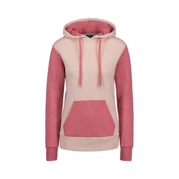 MV Sports Cloud Fleece Quilted Hooded Sweatshirt