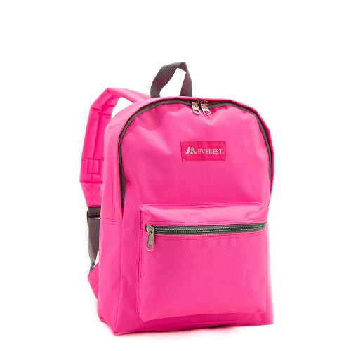 Basic Backpack Candy Pink