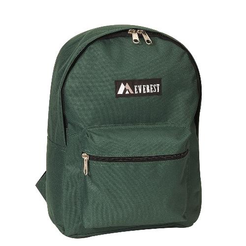 Basic Backpack Dark Green