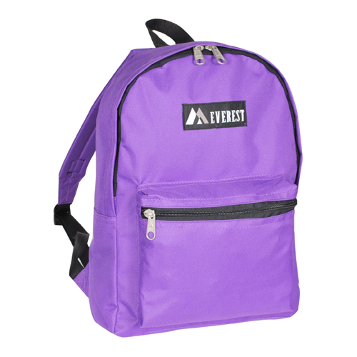 Basic Backpack Dark Purple