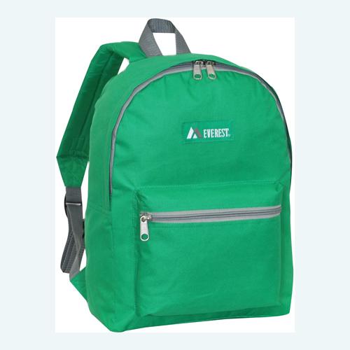 Basic Backpack Emerald Green