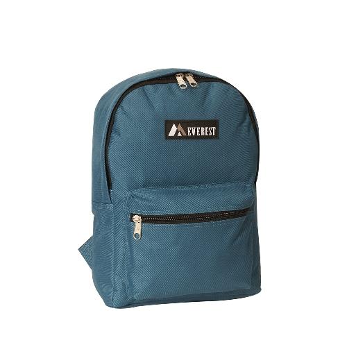 Basic Backpack Fushia Blue