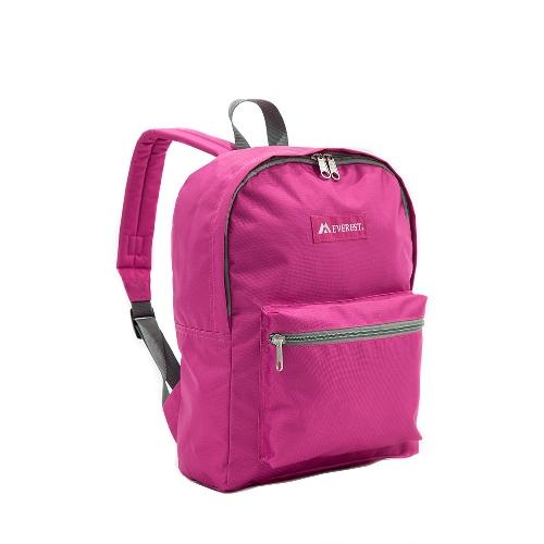 Basic Backpack Magenta Orchid
