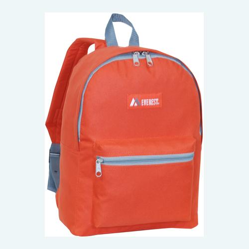 Basic Backpack Rust Orange
