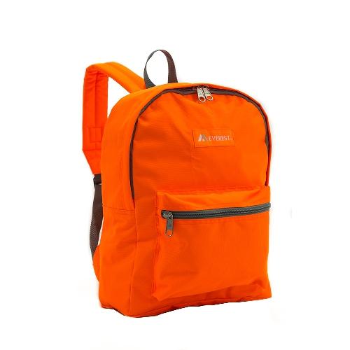 Basic Backpack Tangerine