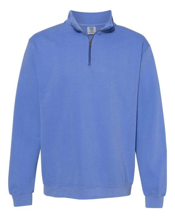 Comfort Colors Garment-Dyed Quarter Zip Sweatshirt