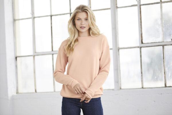 Unisex Sponge Fleece Drop Shoulder Sweatshirt