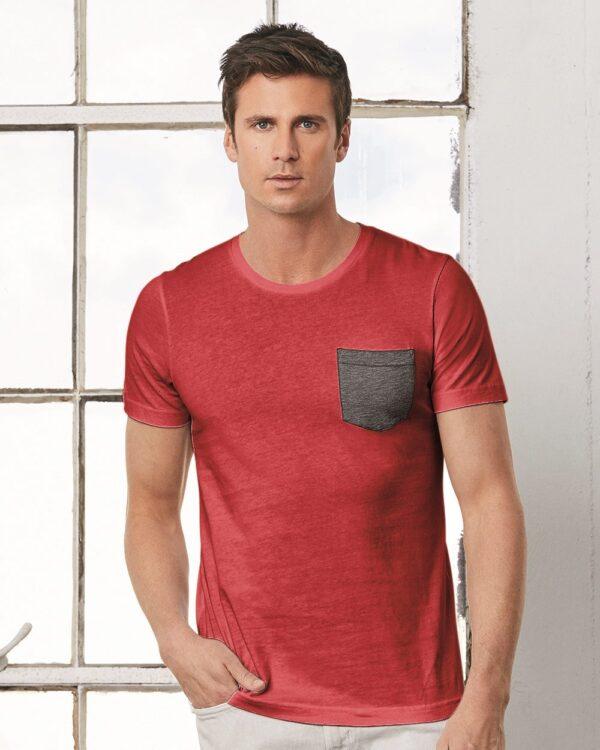 Men's Jersey Short Sleeve Pocket T-Shirt