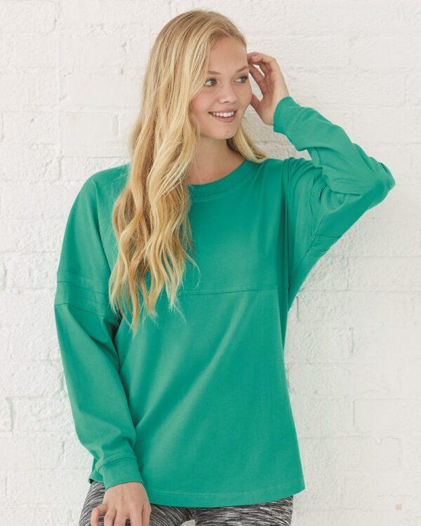 Jersey Pom Pom Long Sleeve T-Shirt