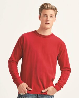 Garment-Dyed Heavyweight Long Sleeve T-Shirt