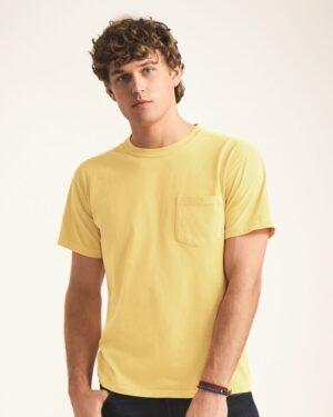 Garment-Dyed Heavyweight Pocket T-Shirt