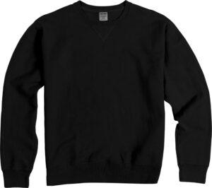 Garment-Dyed Crew Fleece