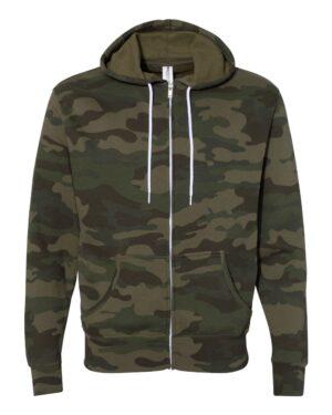 Unisex Zip Hooded Sweatshirt