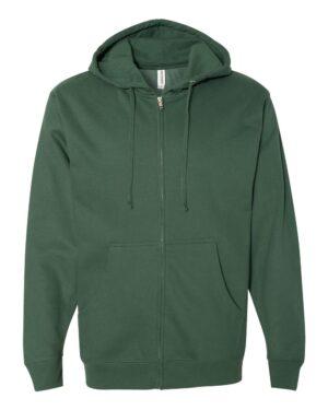 Independent Midweight Zip Hooded Sweatshirt
