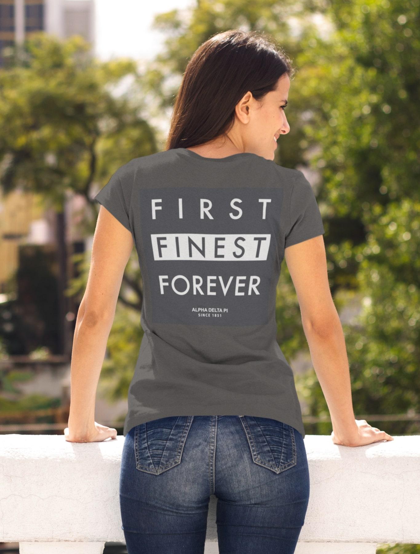 Alpha Delta Pi First Finest Forever