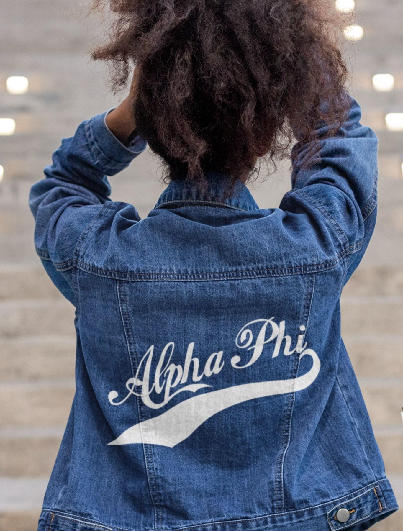 Alpha Phi Denim Jacket