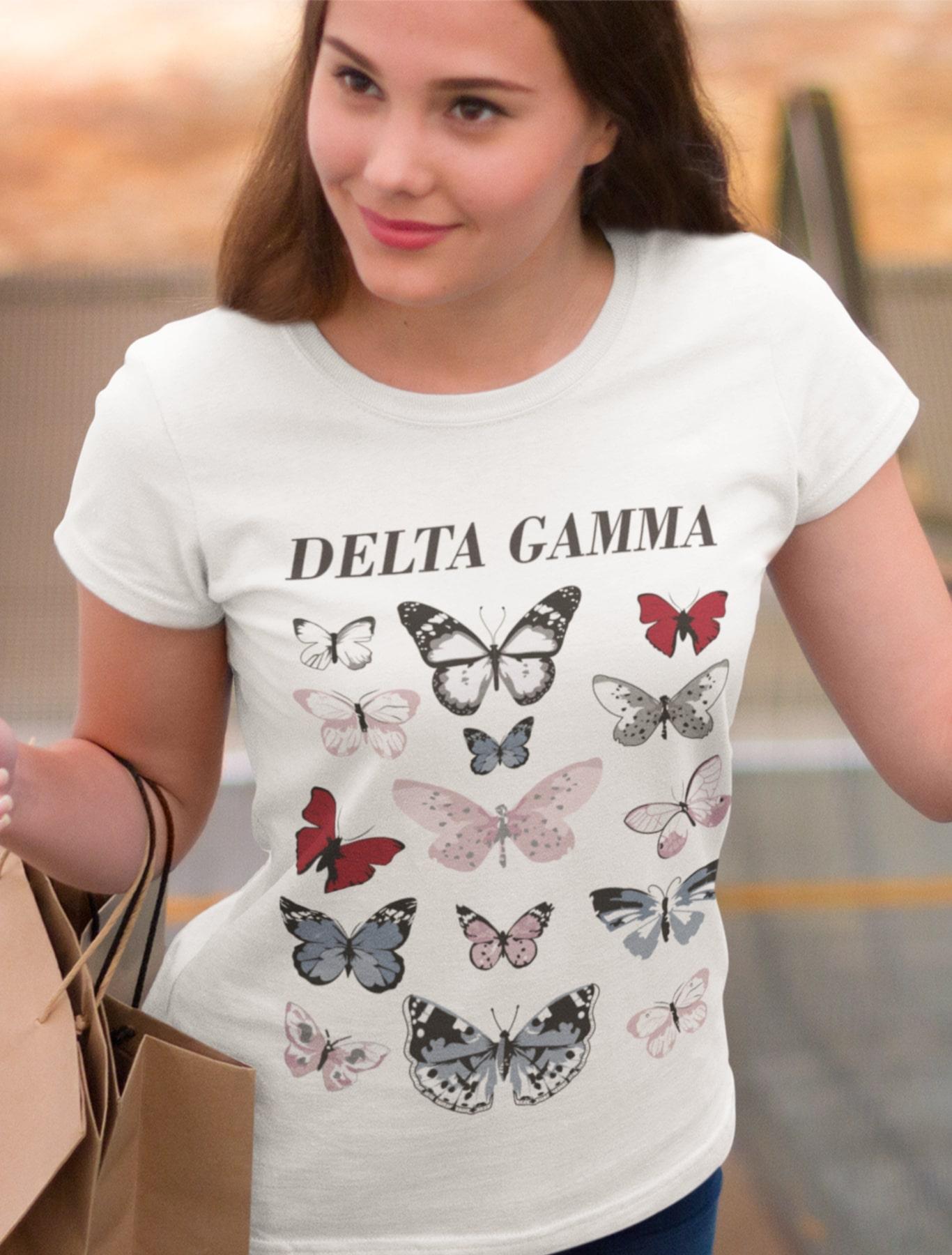 Delta Gamma Butterflies