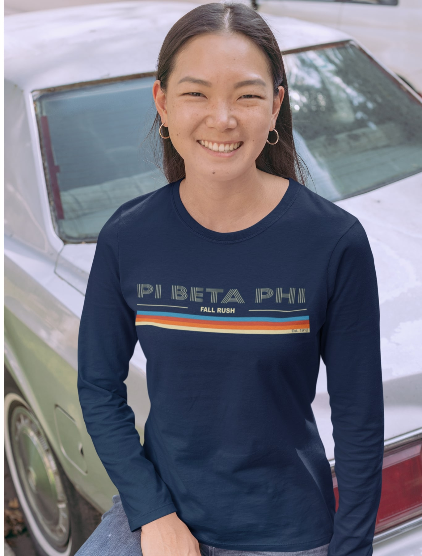 Pi Beta Phi Rainbow