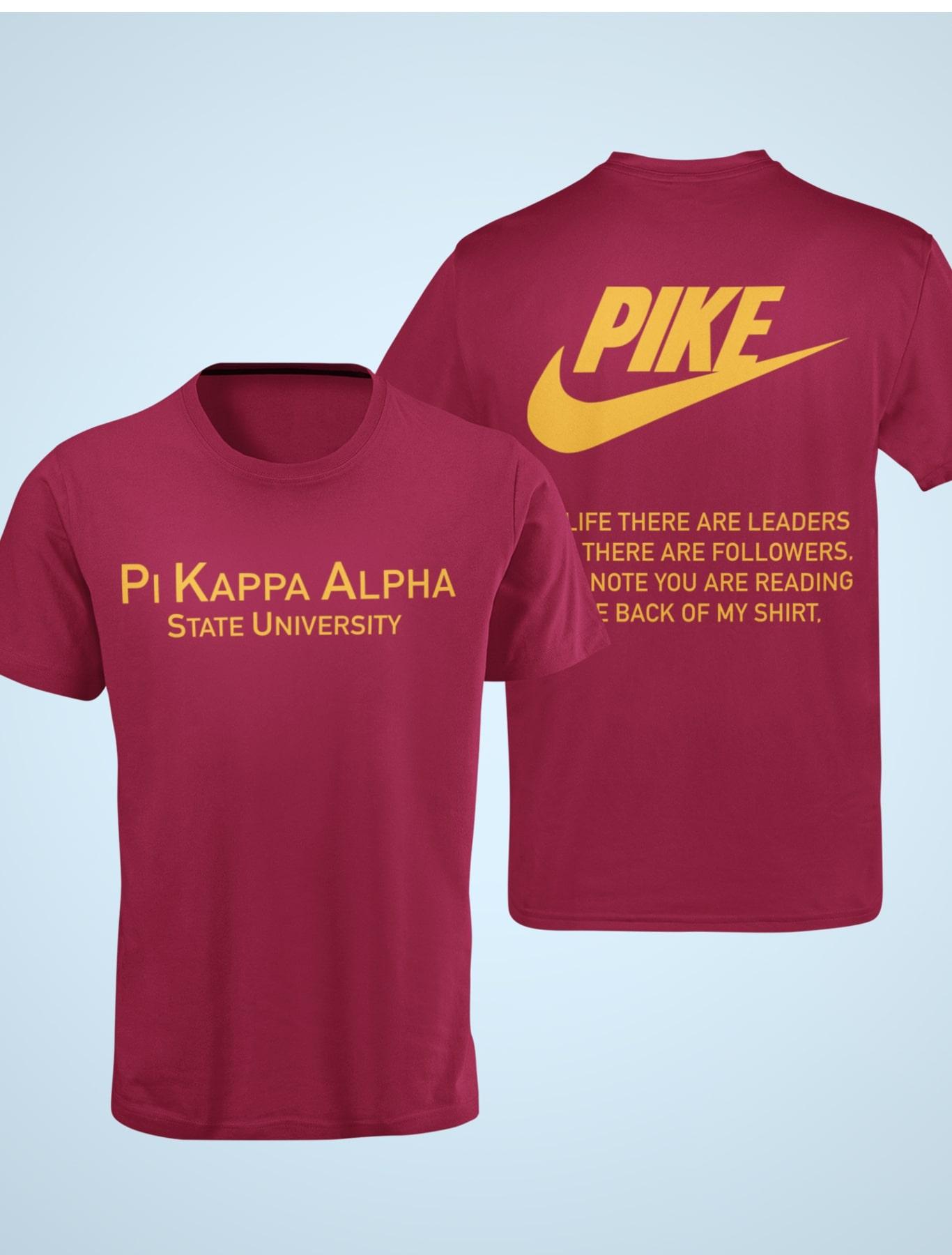 Pi Kappa Alpha Nike